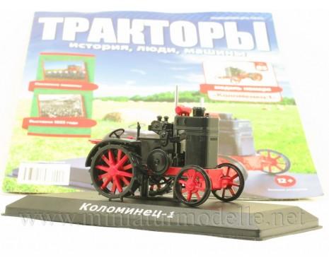 1:43 Kolomenez 1 Traktor mit Zeitschrift #85