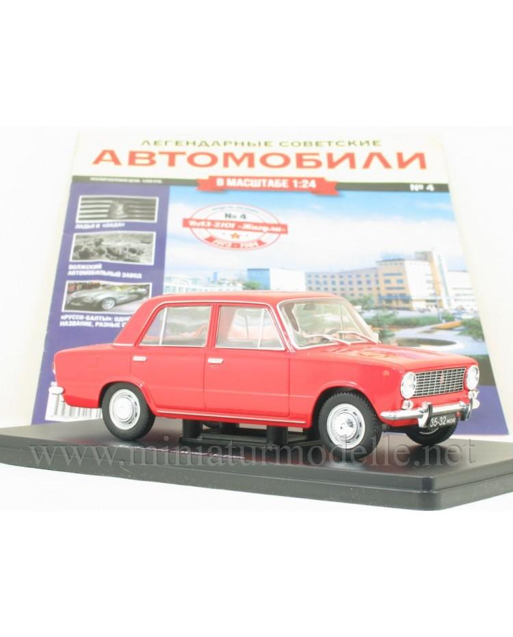 1:24 VAZ 2101 Lada mit Zeitschrift #2