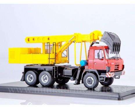 1:43 Tatra 815 UDS114A Excavator Backhoe loader