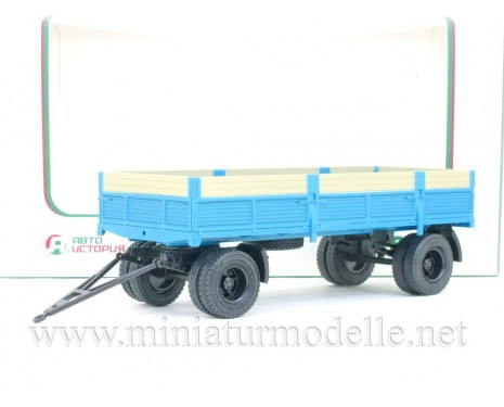 1:43 GKB 8350 load platform trailer with high body