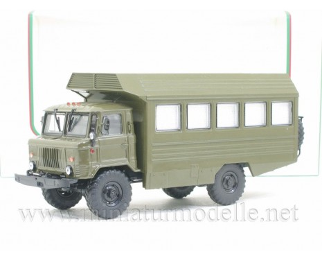 1:43 GAZ 66 field hospital box KSP military
