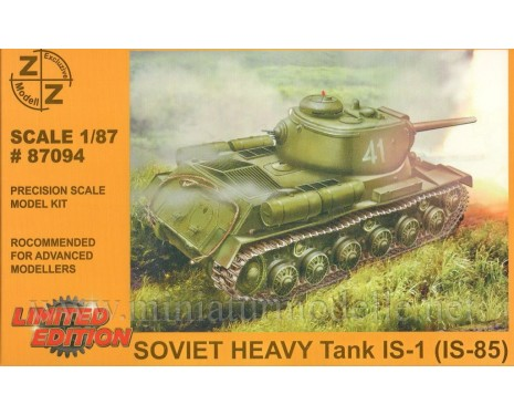 H0 1:87 IS 1 (IS-85) Soviet heavy tank