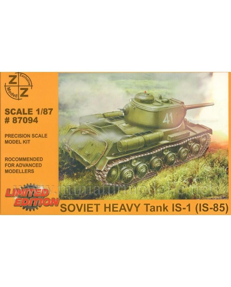 H0 1:87 IS 1 (IS-85) schwerer sowjetischer Kampfpanzer Stalinpanzer