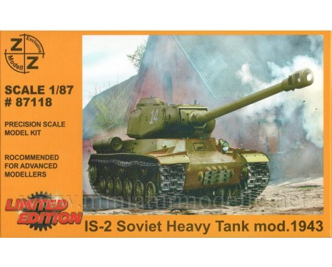 H0 1:87 IS 2 (1943) Soviet heavy tank