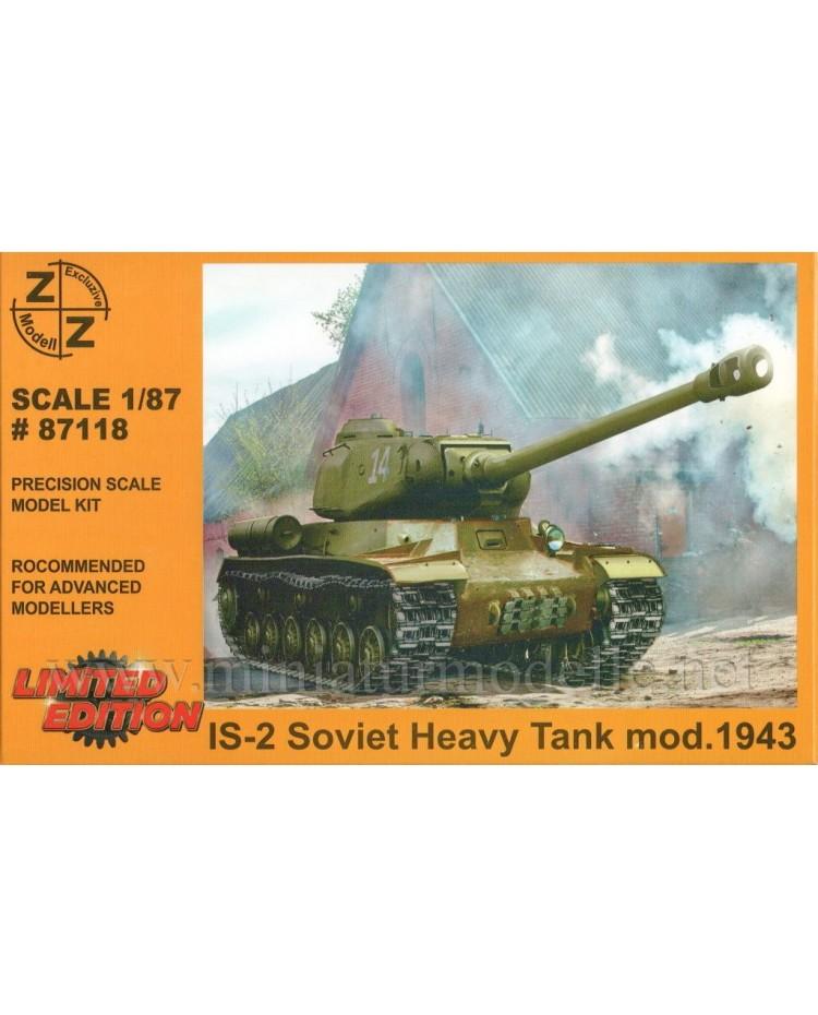 H0 1:87 IS 2 (1943) schwerer sowjetischer Kampfpanzer Stalinpanzer