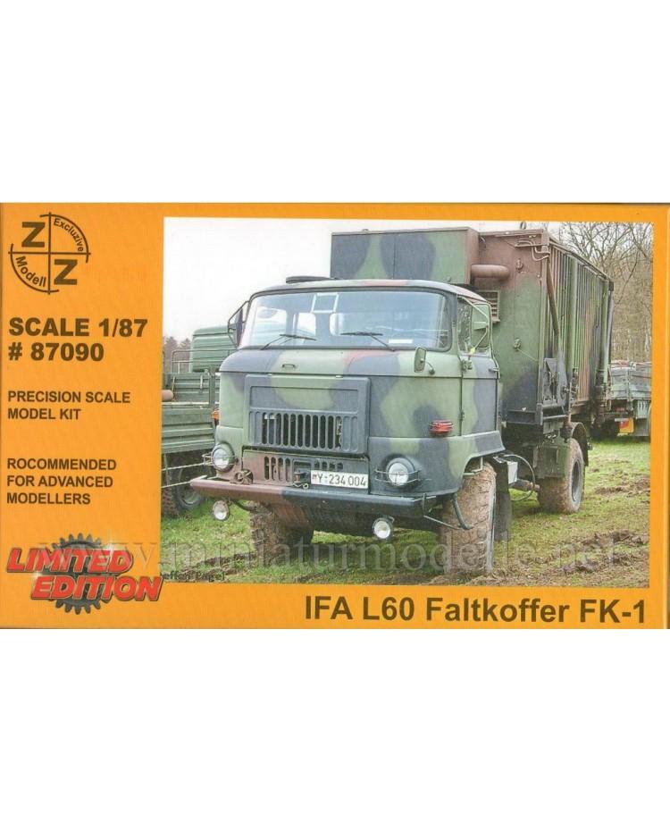 H0 1:87 IFA L60 Kommando Stabswagen Faltkoffer FK 1, Militär