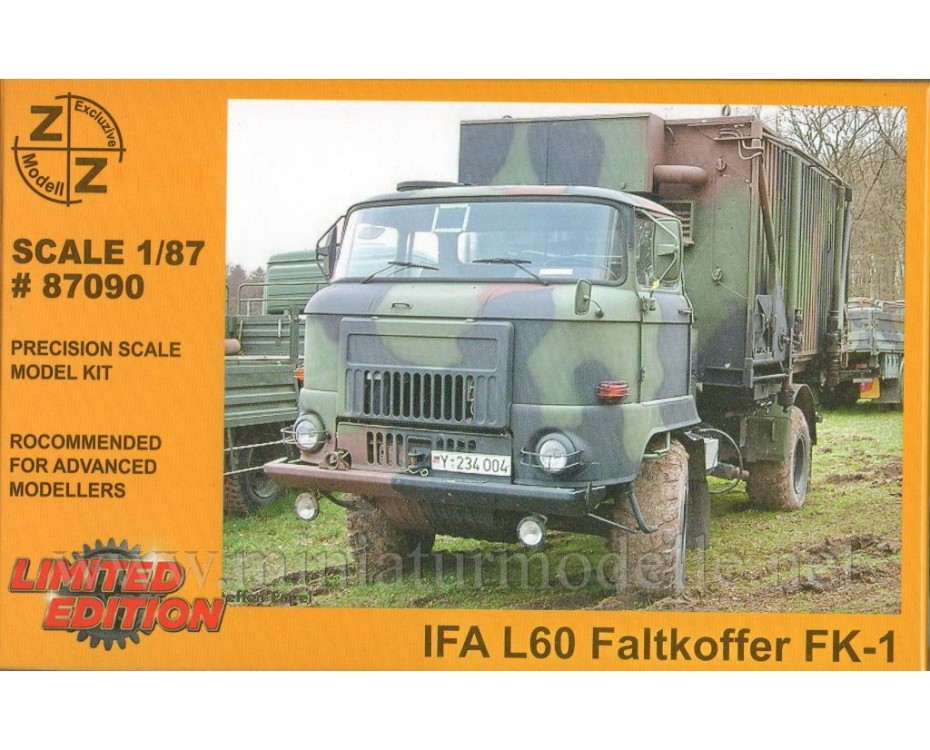 H0 1:87 IFA L60 Command and staff vehicle FK 1, military
