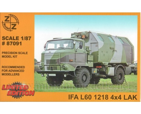H0 1:87 IFA L60 Command and staff box LAK, military
