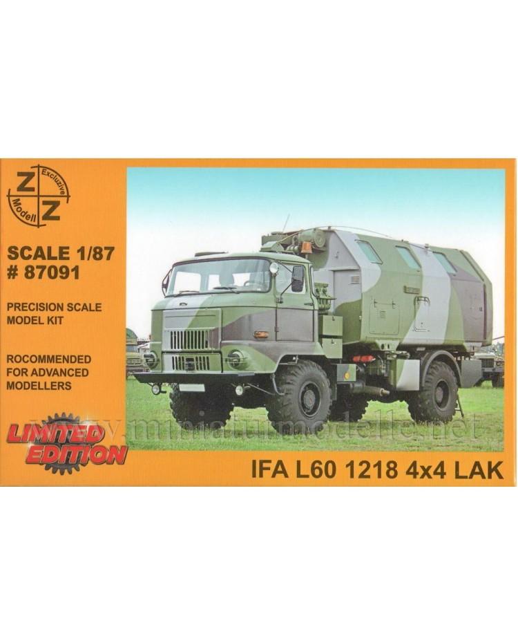H0 1:87 IFA L60 Kommando Stabswagen Koffer LAK, Militär