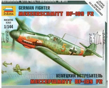 1:144 Messerschmitt BF-109 F2 german fighter, kit