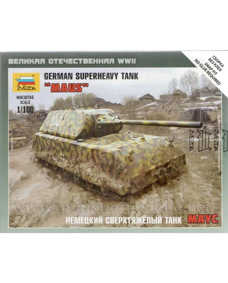 1:100 Maus deutscher Panzerkampfwagen VIII, Bausatz
