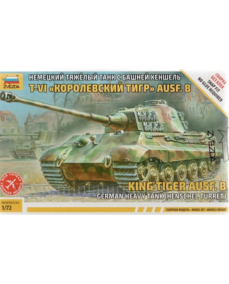 1:72 Panzerkampfwagen VI Königstiger Sd. Kfz. 182 mit Henschel Turm, Bausatz