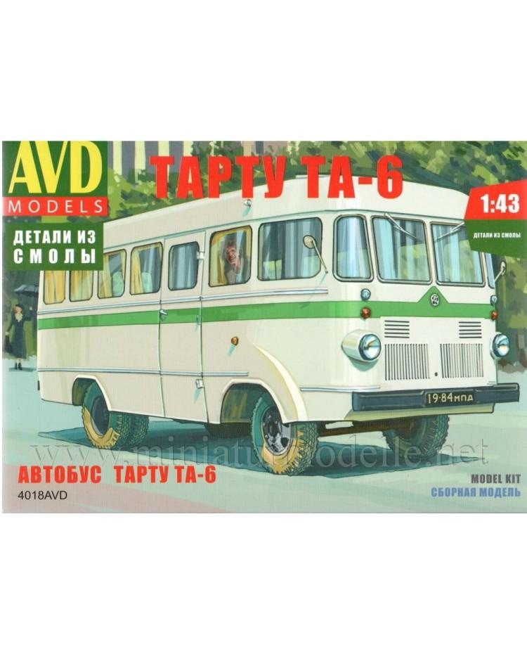 1:43 Tartu TA 6 Bus, Kleinserien Bausatz