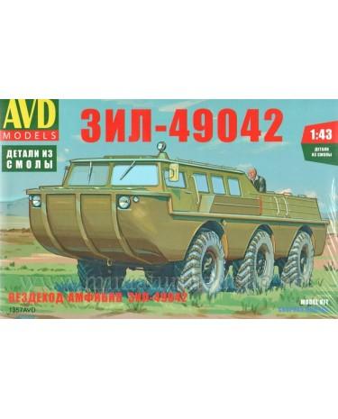 1:43 ZIL 49042 Amphibienfahrzeug, Militär, Kleinserien Bausatz