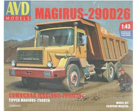 1:43 Magirus 290 D 26K Kipper, Bausatze