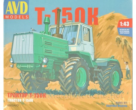 1:43 T 150 K tractor, kit