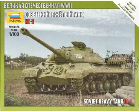 1:100 IS 3 Soviet heavy tank