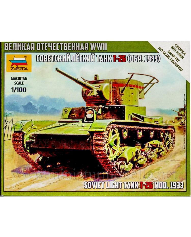 1:100 T 26 (1933) Soviet light infantry tank