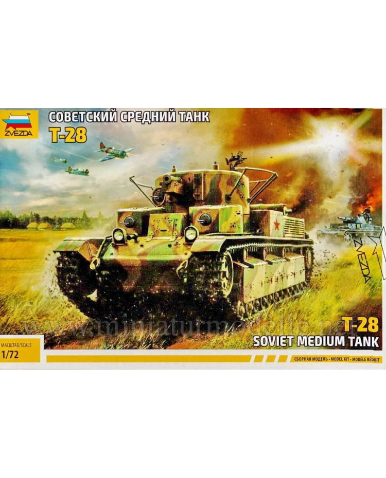 1:72 T 28 Soviet medium tank