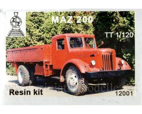 1:120 TT MAZ 200 load platform, small batches kit