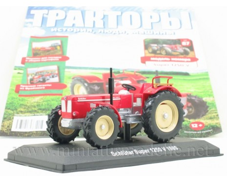 1:43 Schluter Super 1250 V (1969) Tractor with magazine #87