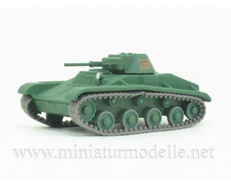 1:72 Light battle tank T-60, military with magazine #58