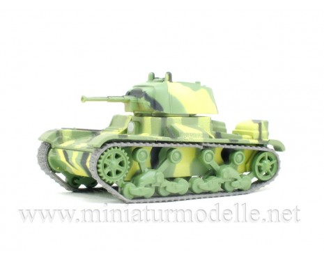 1:72 Light battle tank T-26-39, military with magazine #43