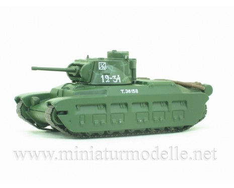 1:72 Light battle tank Matilda, military with magazine #61