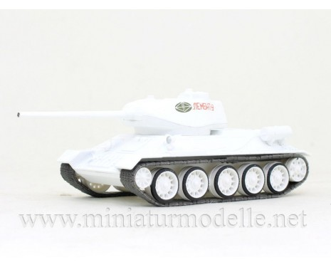 1:72 Medium battle tank T-34/85 with with magazine #63, military