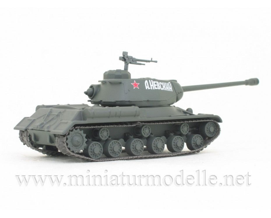 1:72 Heavy batle tank IS-2, military  with magazine #66