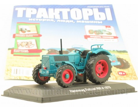 1:43 Hanomag Robust 900 A (1970) Tractor with magazine #88