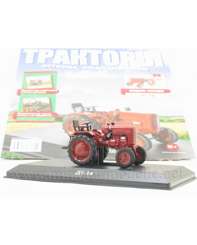 1:43 DT 14 Traktor mit Zeitschrift #89
