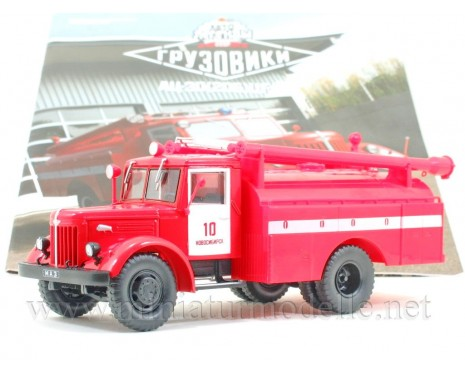 1:43 MAZ 205 Water tender AC 30 CG A with magazine #28