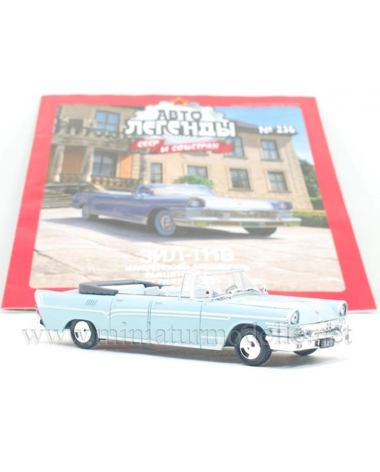 1:43 ZIL 111 V Cabrio mit Zeitschrift #236