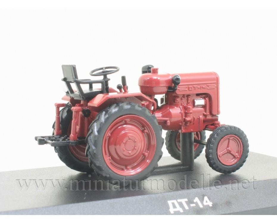 1:43 DT 14 Tractor with magazine #89,  Hachette by www.miniaturmodelle.net