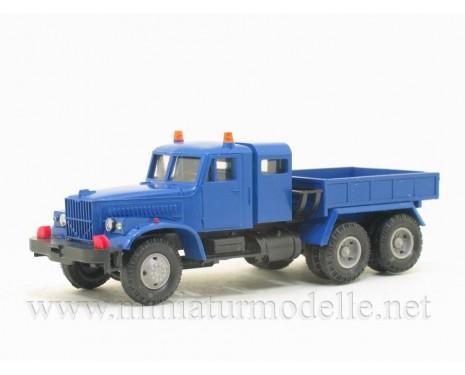H0 1:87 KRAZ 258 one and a half cabin ballast tractor, civil