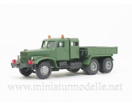 H0 1:87 KRAZ 258 Eineinhalb-Kabine Schwerlastzugmaschine, Militär
