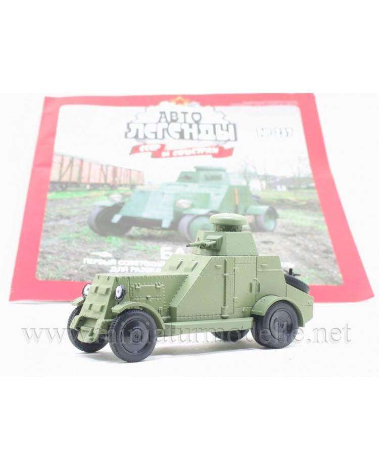 1:43 BA 27 Schützenpanzerwagen Militär mit Zeitschrift #237