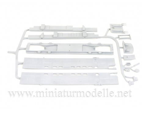 1:87 H0 Twin-unit diesel locomotive class 2TE10M dummy kit, SZD, 4-5 era, small batches model