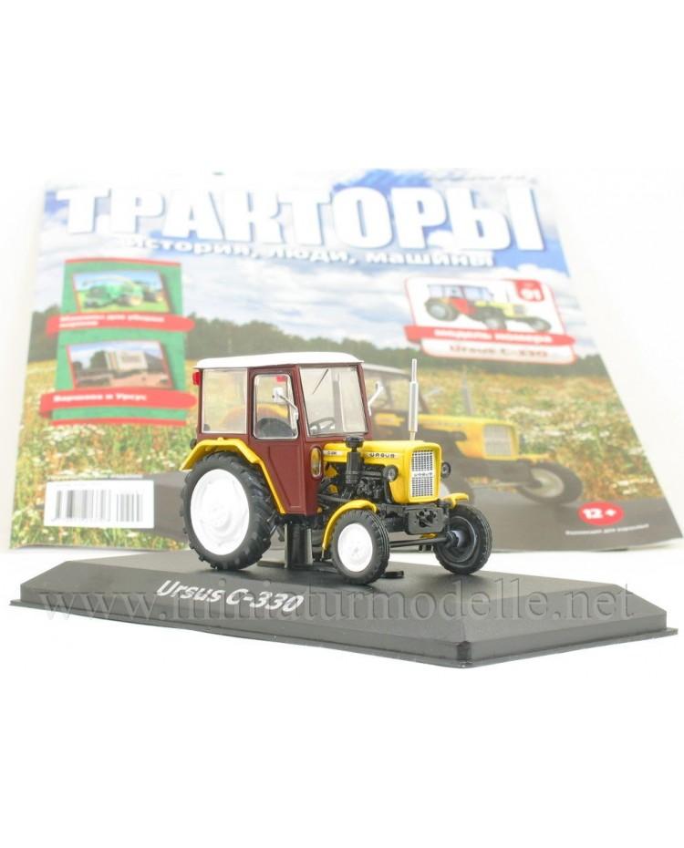 1:43 Ursus C 330 Traktor mit Zeitschrift #91