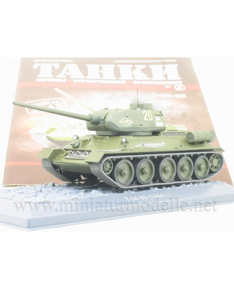 1:43 T 34-85 (1944) Panzer mit Zeitschrift #9
