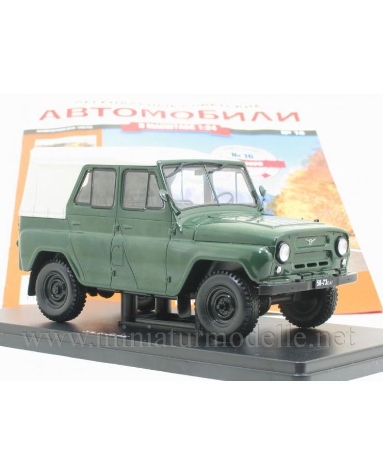 1:24 UAZ 469 B Militär mit Zeitschrift #16