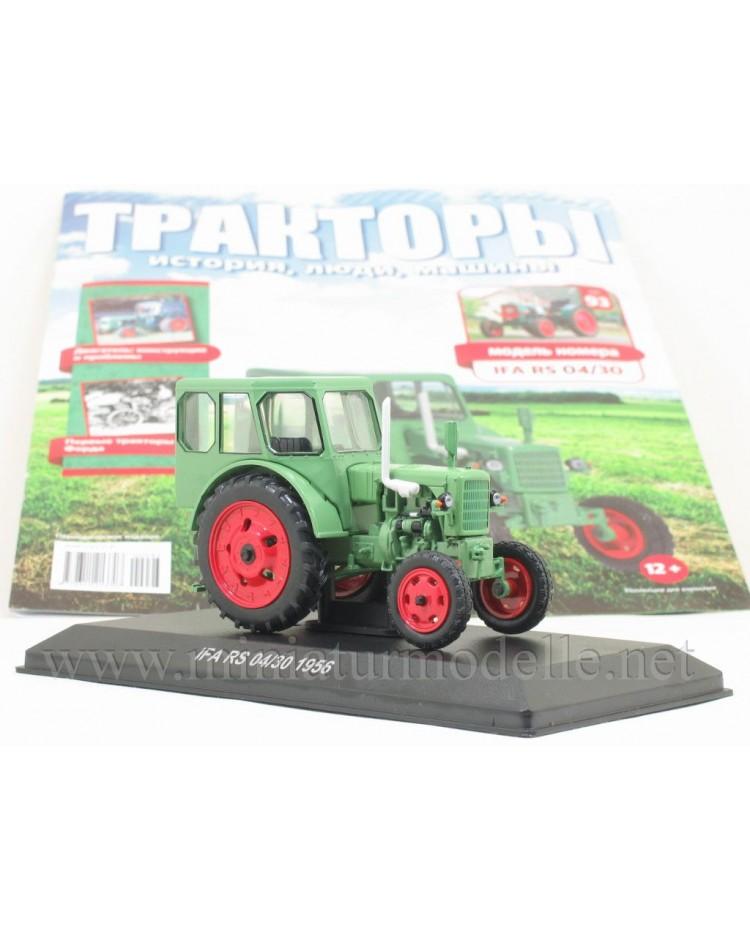 1:43 IFA RS 04/30 Traktor mit Zeitschrift #93