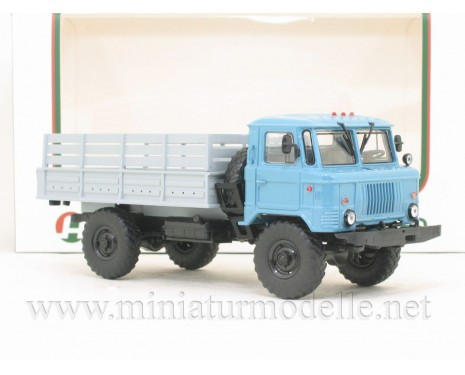 1:43 GAZ 66 high body load platform, civil