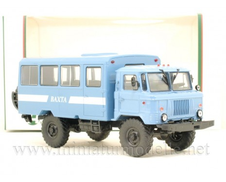 "1:43 GAZ 66 shift bus NZAS-3964 ""Vahta"""