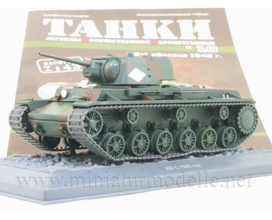 1:43 KW 1 1942 Panzer mit Zeitschrift #10