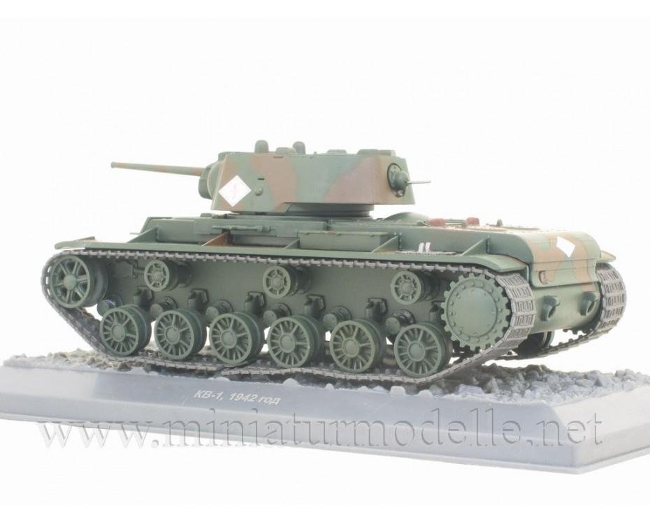 1:43 KV 1 1942 Tank with magazine #10,  De Agostini by www.miniaturmodelle.net