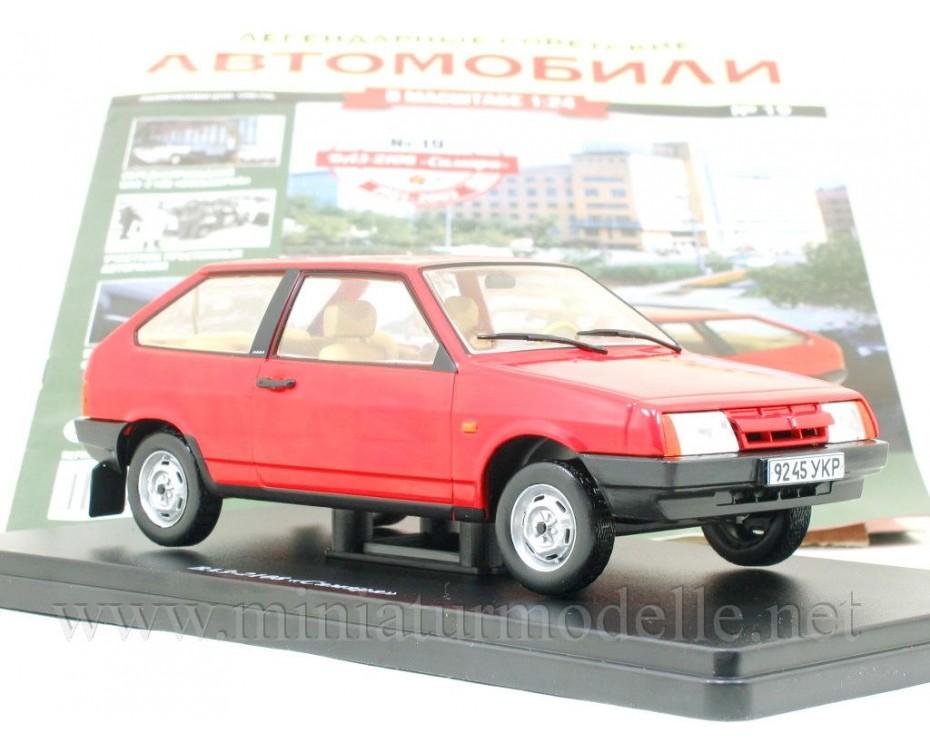 1:24 VAZ 2108 Lada Samara mit Zeitschrift #19