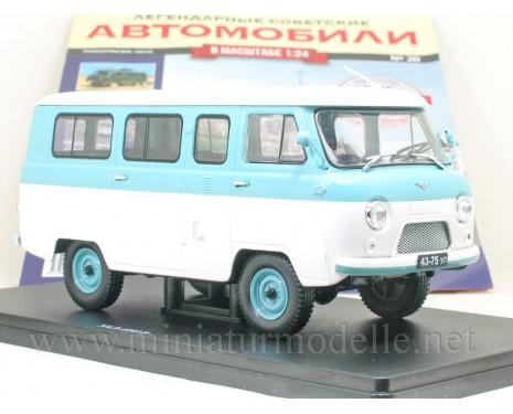 1:24 UAZ 452 V Bus mit Zeitschrift #20