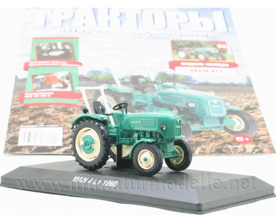1:43 MAN 4L1 Traktor mit Zeitschrift #96
